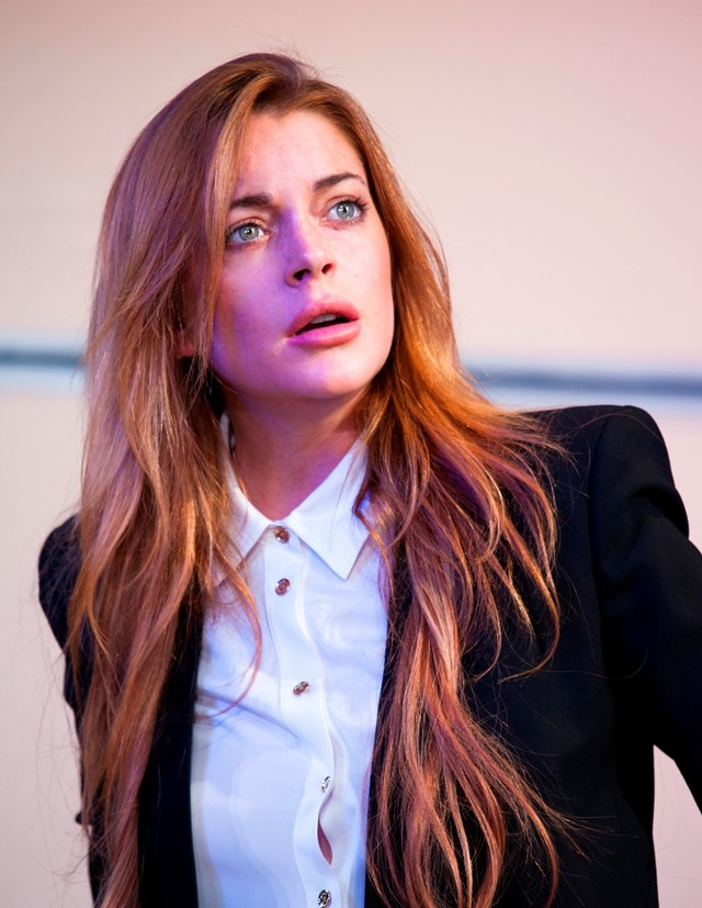 Lindsay Lohan in Speed The Plow
