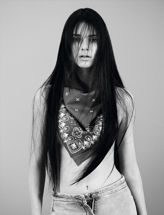 Kendall Jenner extended cover shoot unseen images Dazed