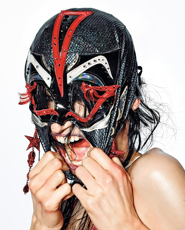 Wrestle Mania Dazed Spring 2015 issue, Yadim, Robbie Spencer