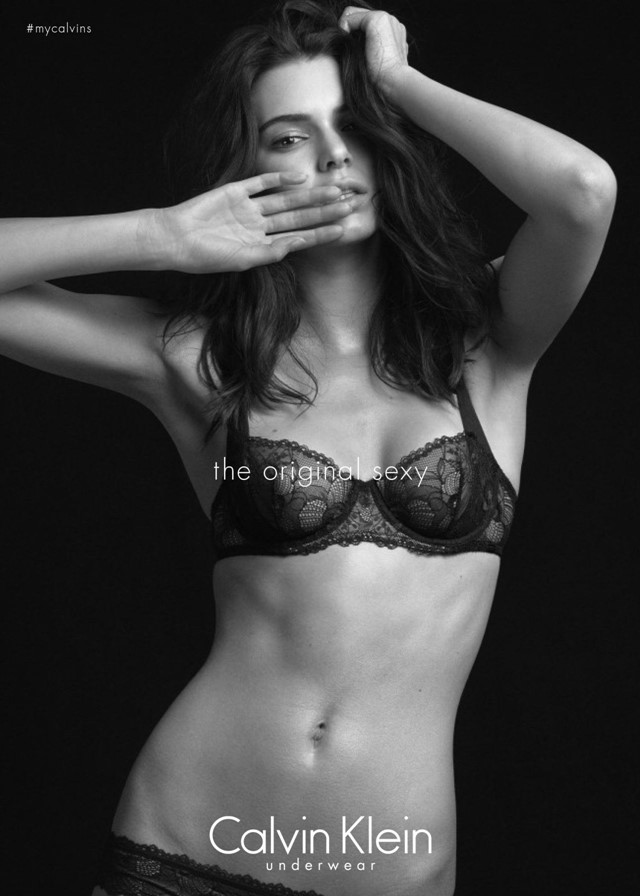 Kendall Jenner is the new face of Calvin Klein underwear ...