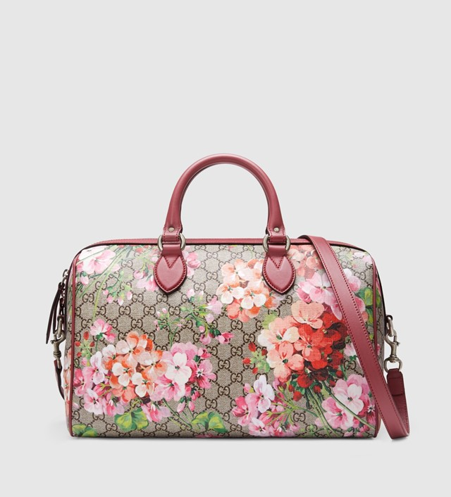 Blooms GG supreme top handle bag Gucci Skeez rapper homeless