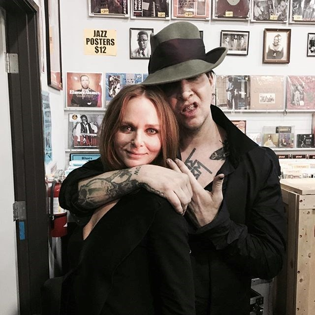 Stella McCartney and Marilyn Manson