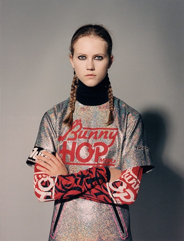 Model wears all clothes Marc by Marc Jacobs AW14