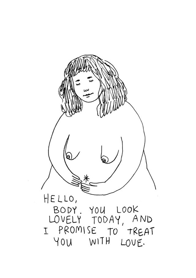 Using illustration to combat taboos around the female body