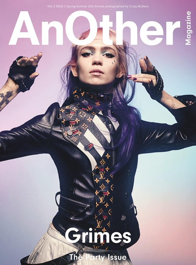 Grimes for AnOther S/S16 Craig McDean Alex White