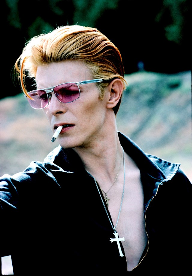 David Bowie, photography Steve Schapiro