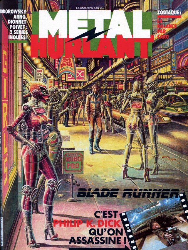 metal hurlant no.77.78.79.80.81.82 - 3 - 78 Cover