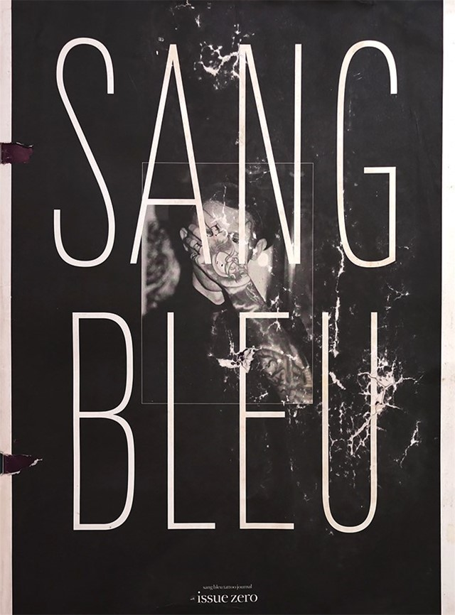 SB-Sang Bleu Magazine_Issue 0_old condition
