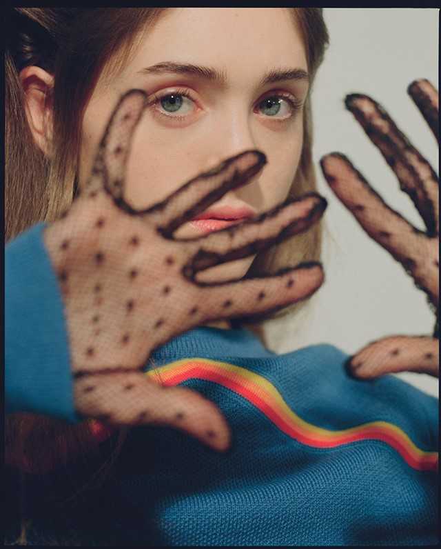 Natalia Dyer Stranger Things Dazed 2016 Dario Catellani