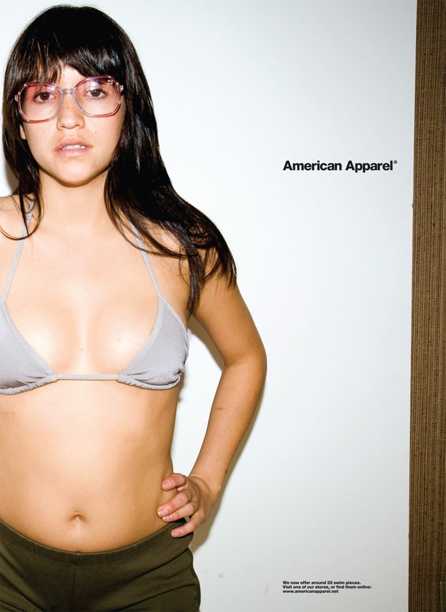 American Apparel ad Dazed
