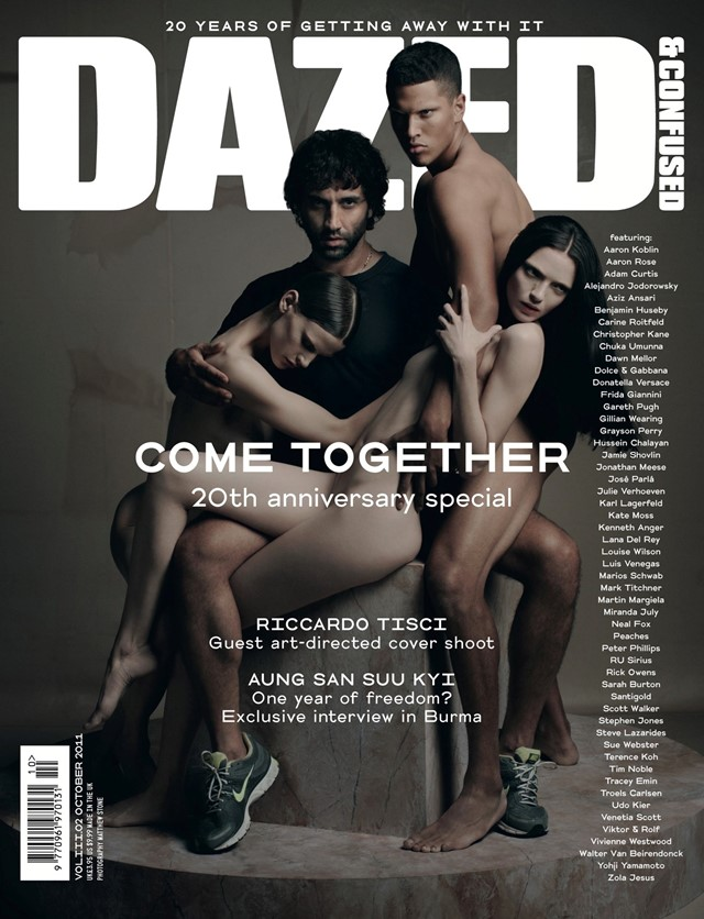 Riccardo Tisci Matthew Stone October 2011 Dazed & Confused