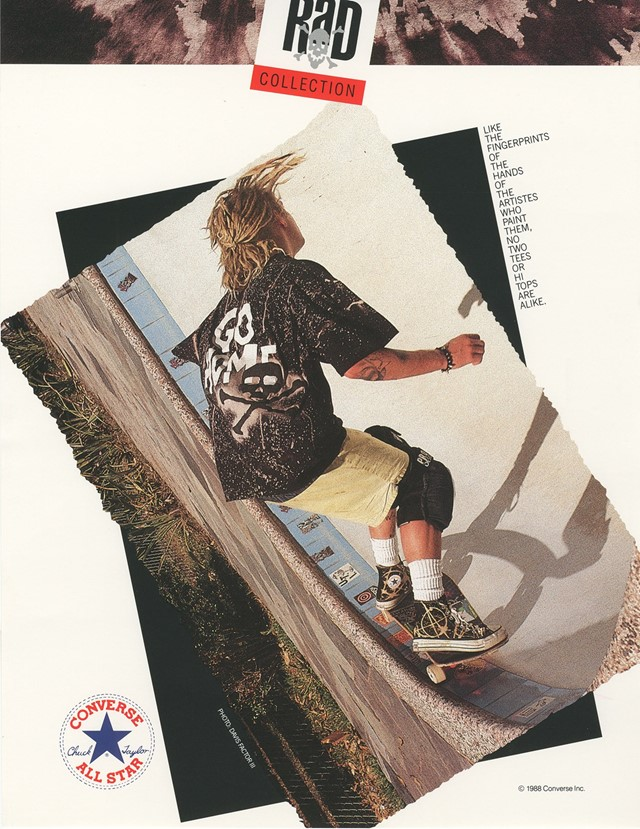 Advertisement - 1988 - Rad collection