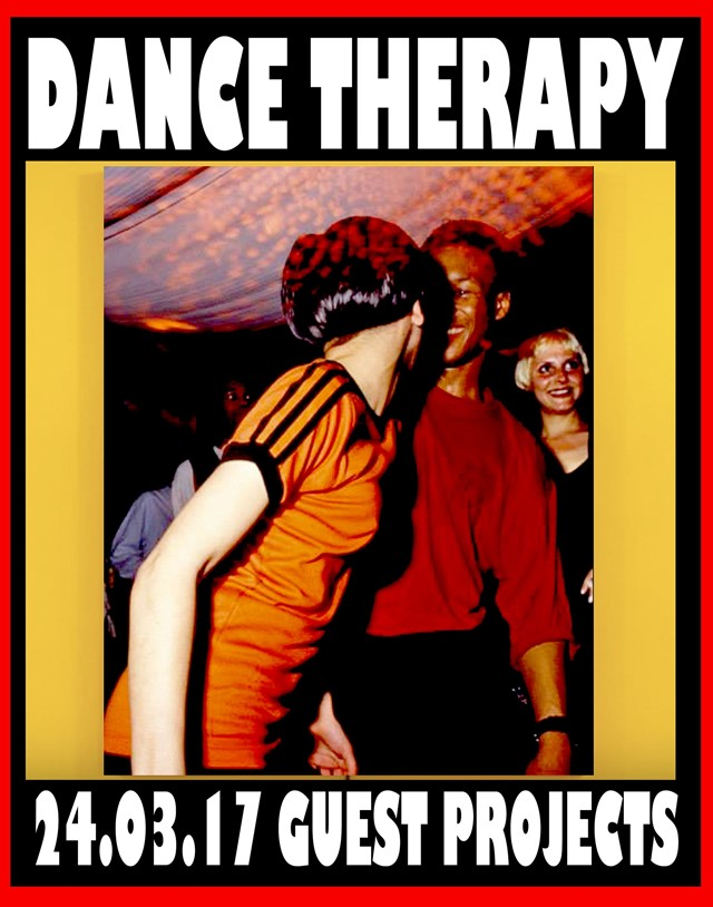 "A poster for Lotte Anderson's ""Dance Therapy"""