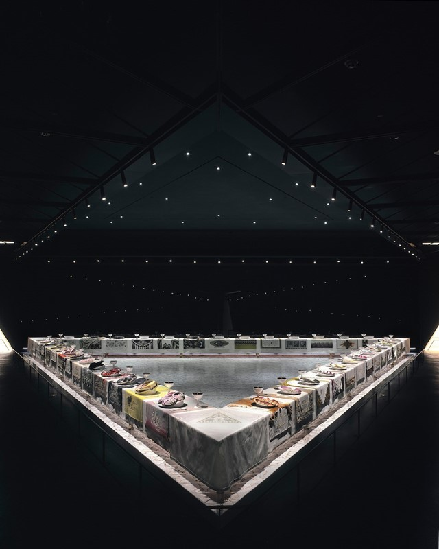 Judy Chicago's Dinner Party