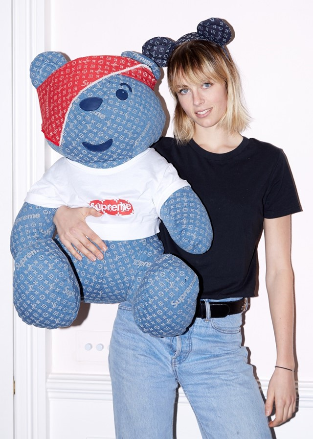 pudsey children in need louis vuitton supreme