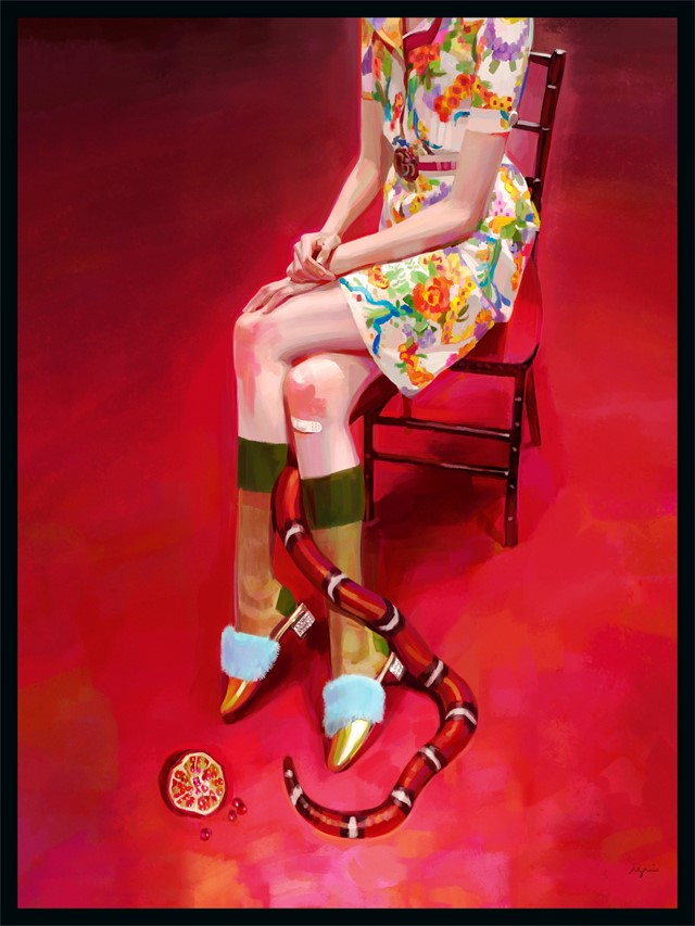 gucci illustration fashion ignasi monreal gift giving
