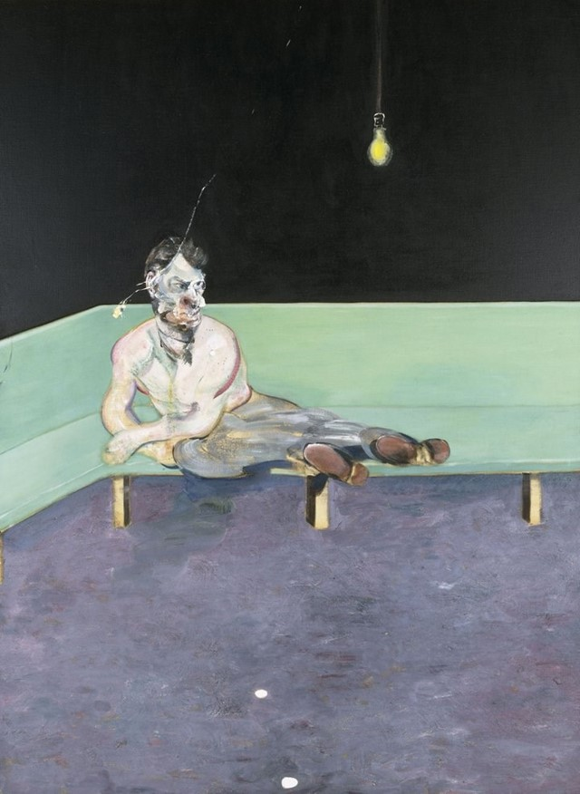 "Francis Bacon, ""Study for Portrait of Lucian Freud"" (1964)"