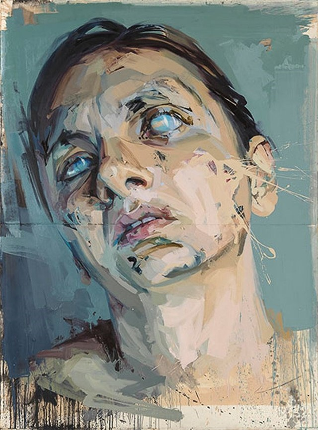 Jenny Saville, Atonement Studies (Panel 2), 2005-2006
