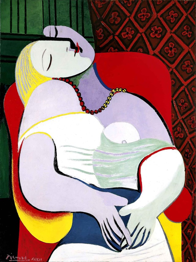 "Pablo Picasso, ""The Dream (Le Rêve)"" (1932)"