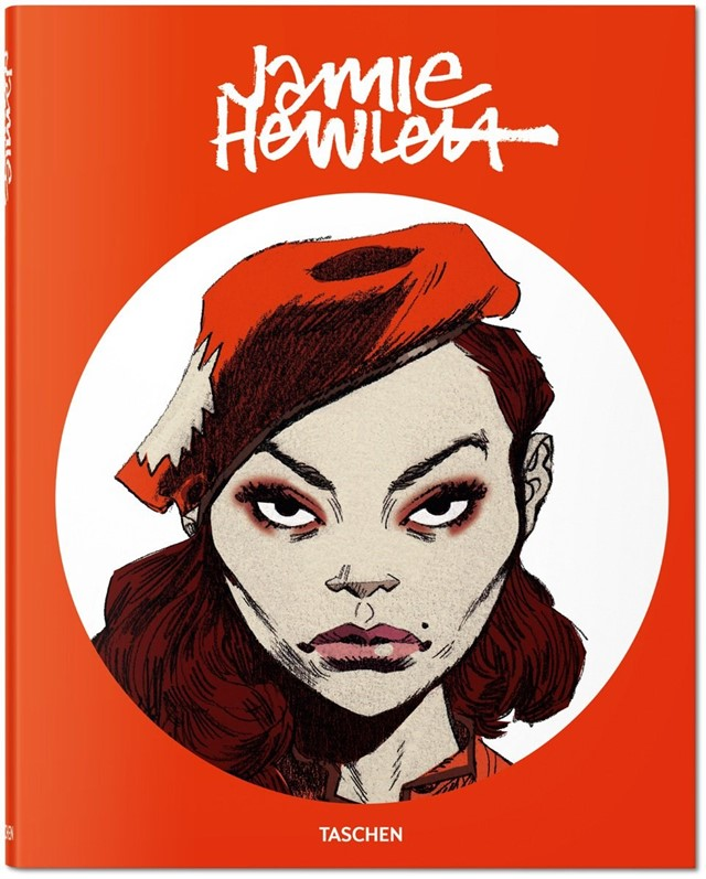 Jamie Hewlett - second edition book cover