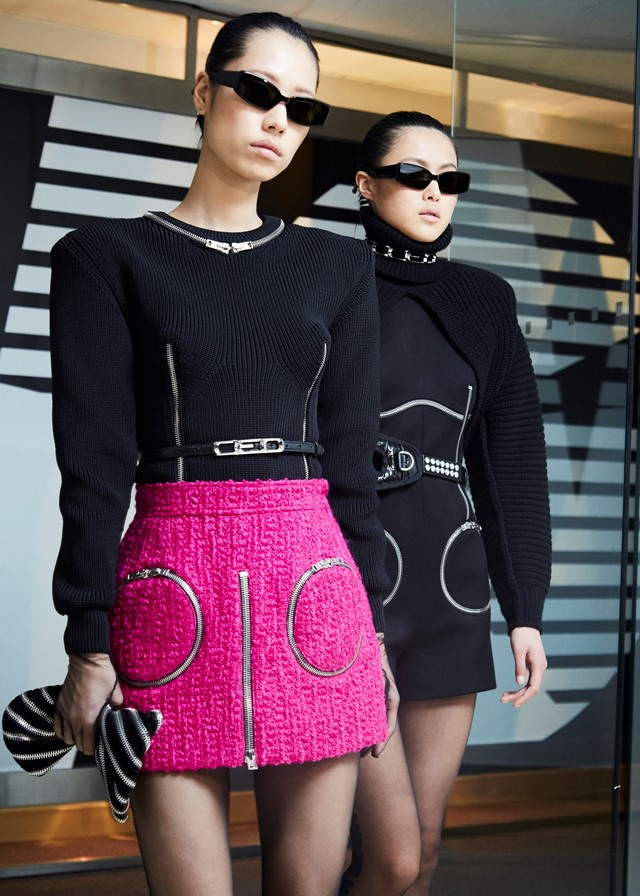Alexander Wang AW18 show New York nyfw fashion week