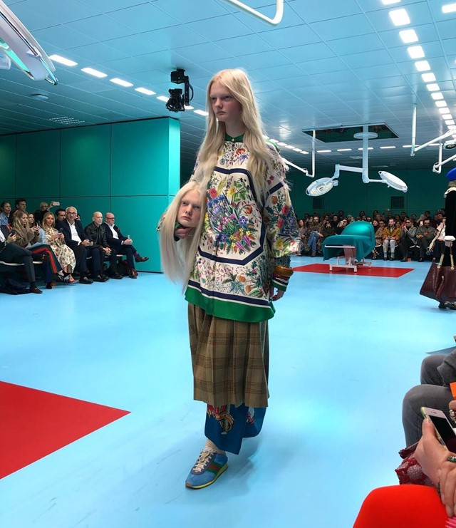 gucci aw18 alessandro michele fashion week milan
