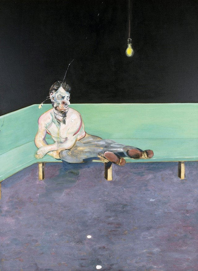 Francis Bacon- Study for Portrait of Lucian Freud