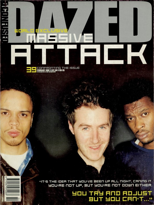 Massive Attack - Dazed cover, 1998