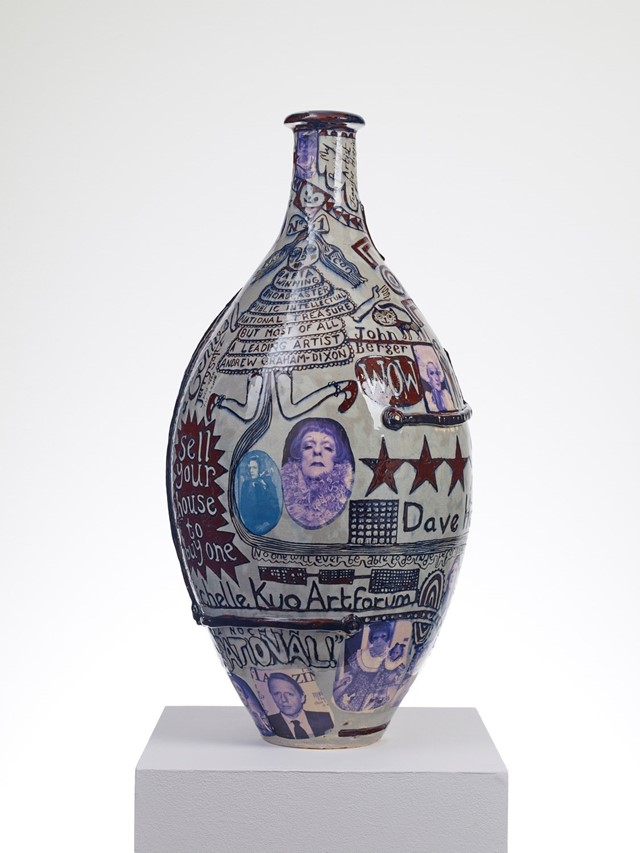 """""""Puff Piece"""", 2016 Grayson Perry"""