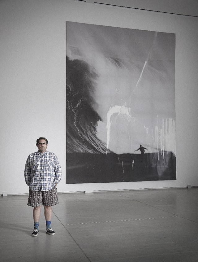 Photo of Julian Schnabel at the AGO by Craig Boyko