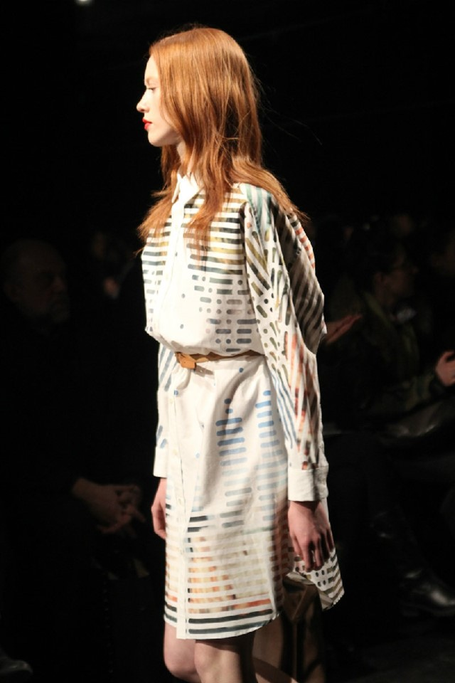 Julien David Womenswear A/W12. Photography by Susi