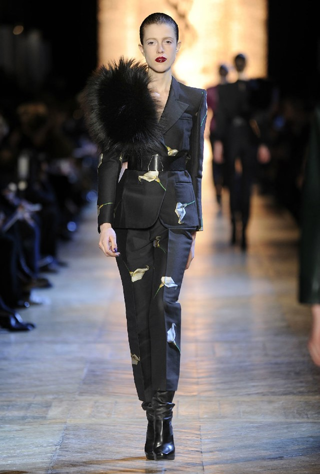 Yves Saint Laurent Womenswear A/W12