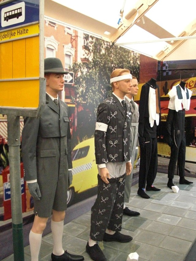 Thom Browne installation photographed by Georgette