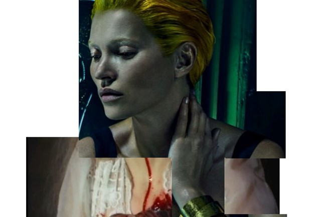 Collage by Doug Abraham aka bessnyc4 kate moss
