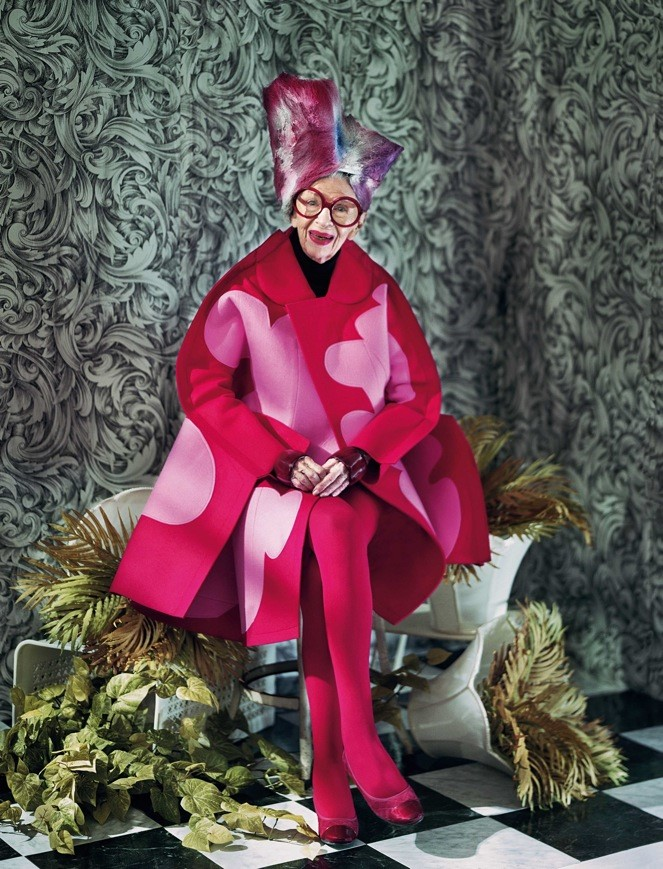 Iris Apfel, styled by Dazed senior fashion editor