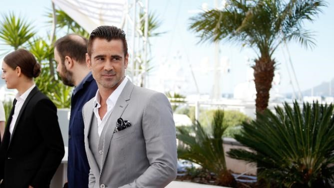 Colin Farrell at Cannes Film Festival
