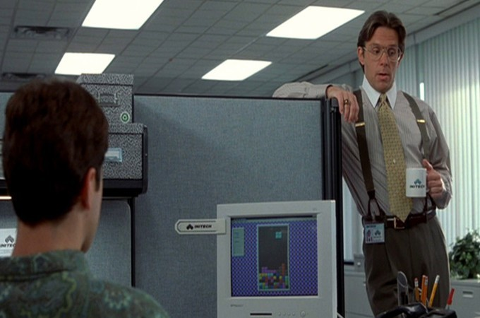 Office Space Tetris