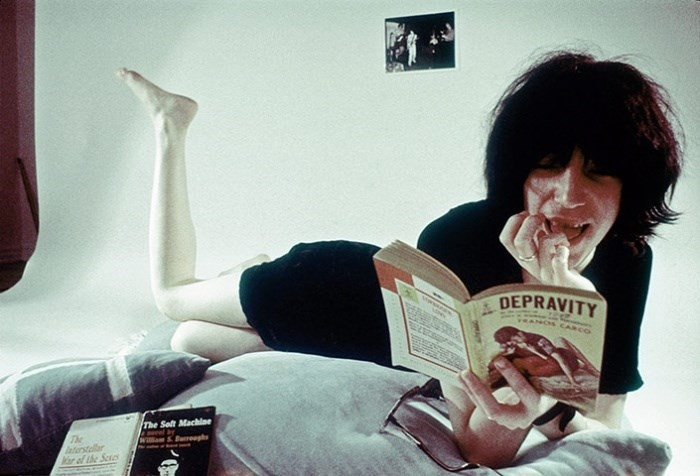 Patti Smith self portrait