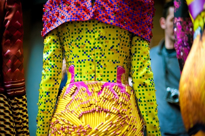 Mary Katrantzou Womenswear AW12. Photography Morga