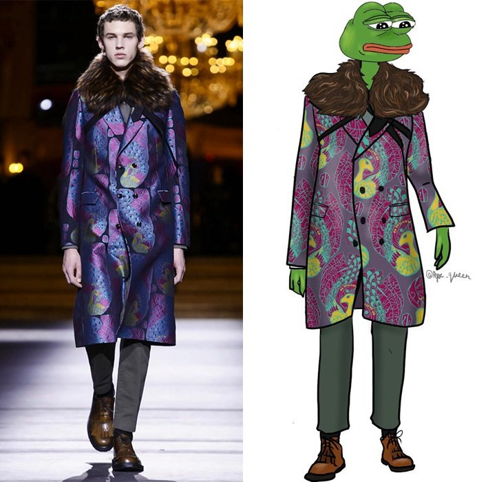 Pepe the frog fashion