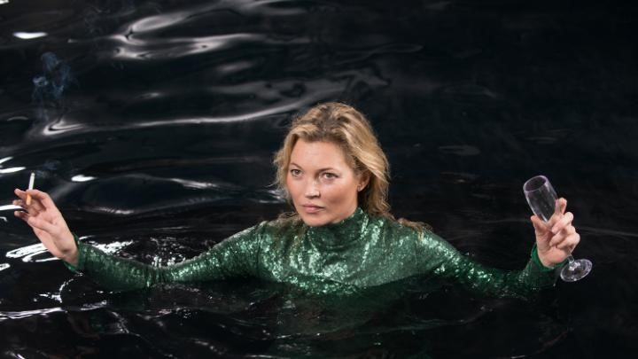 Kate Moss in Absolutely Fabulous: The Movie
