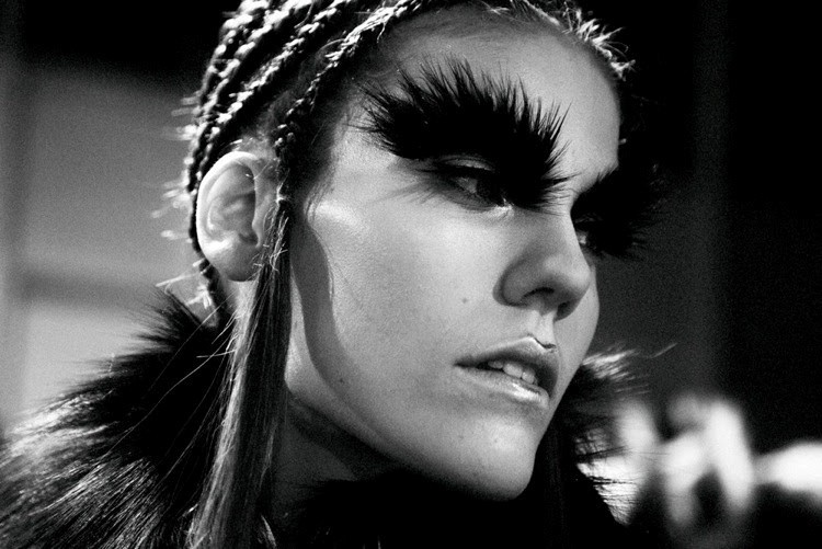 McQueen Oversized Eyebrows