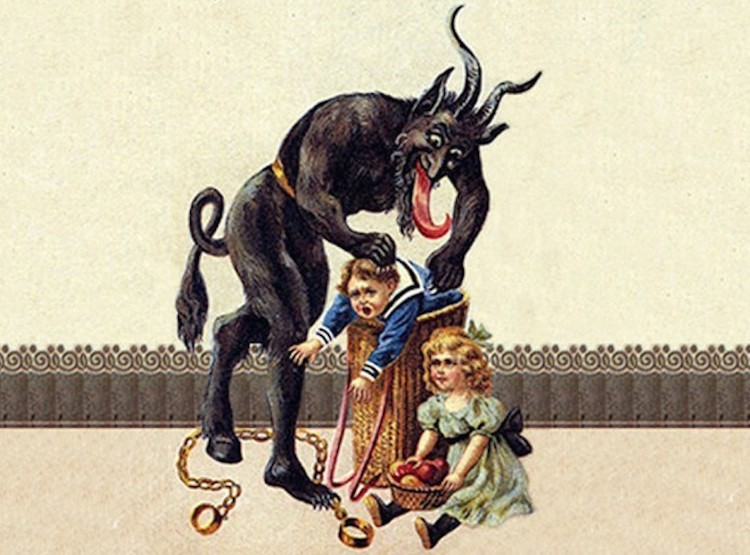 The strange and sinister story of the Christmas Krampus