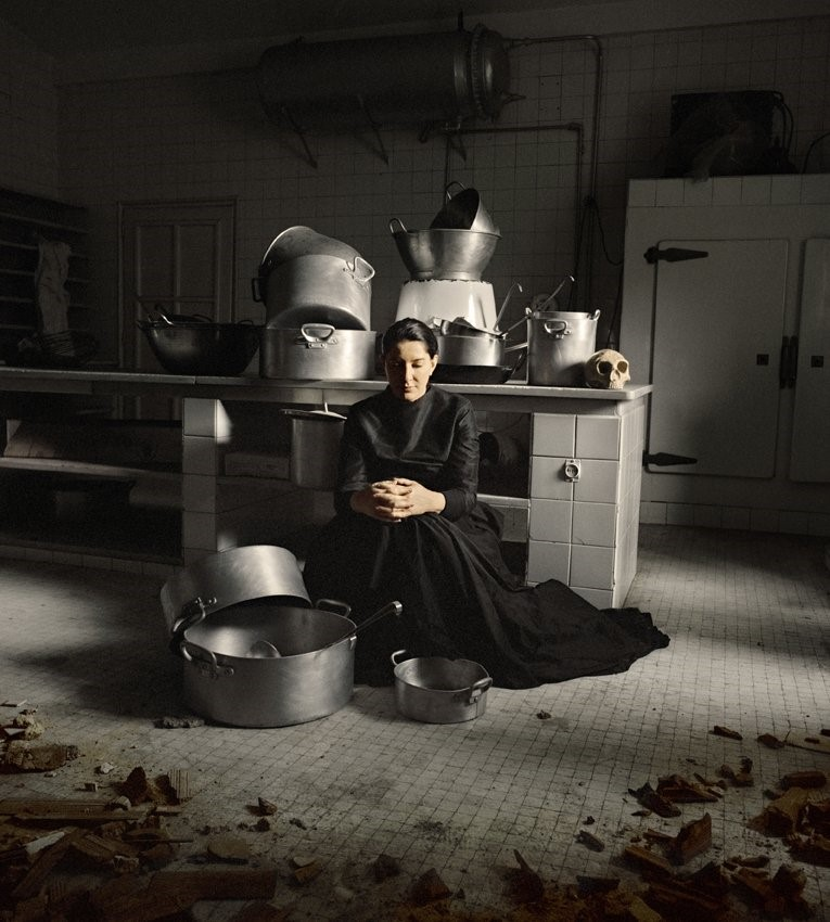 Marina Abramovic 'THE KITCHEN III'