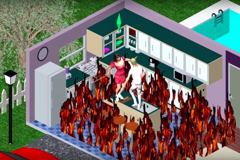 THE SIMS 1999