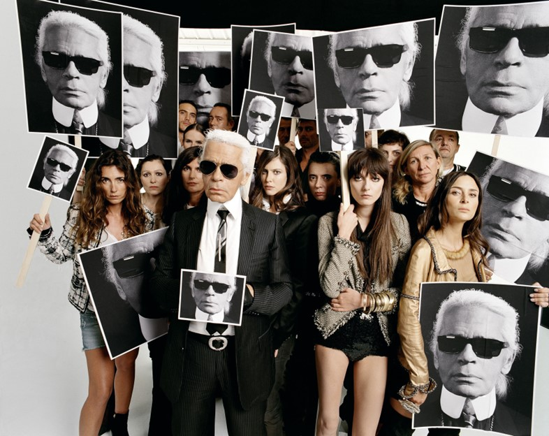 William Klein, Karl Lagerfeld, Harper's Bazaar, 20