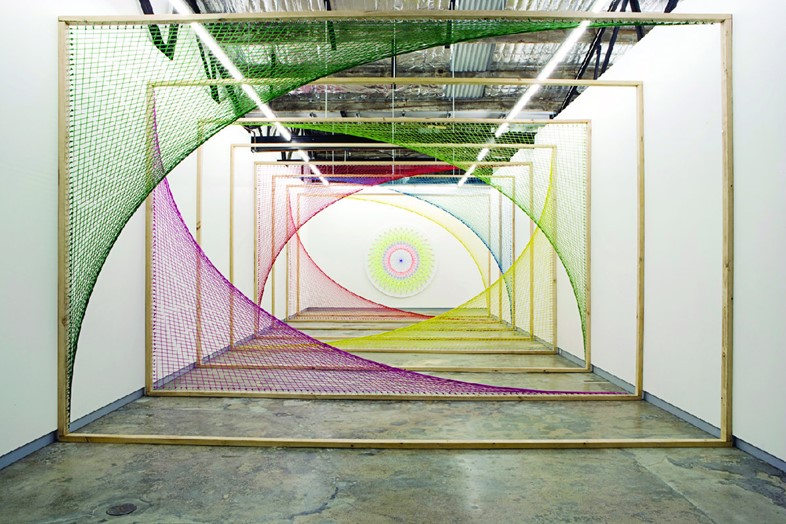 Sliding Ladder, by Nike Savvas (2010)
