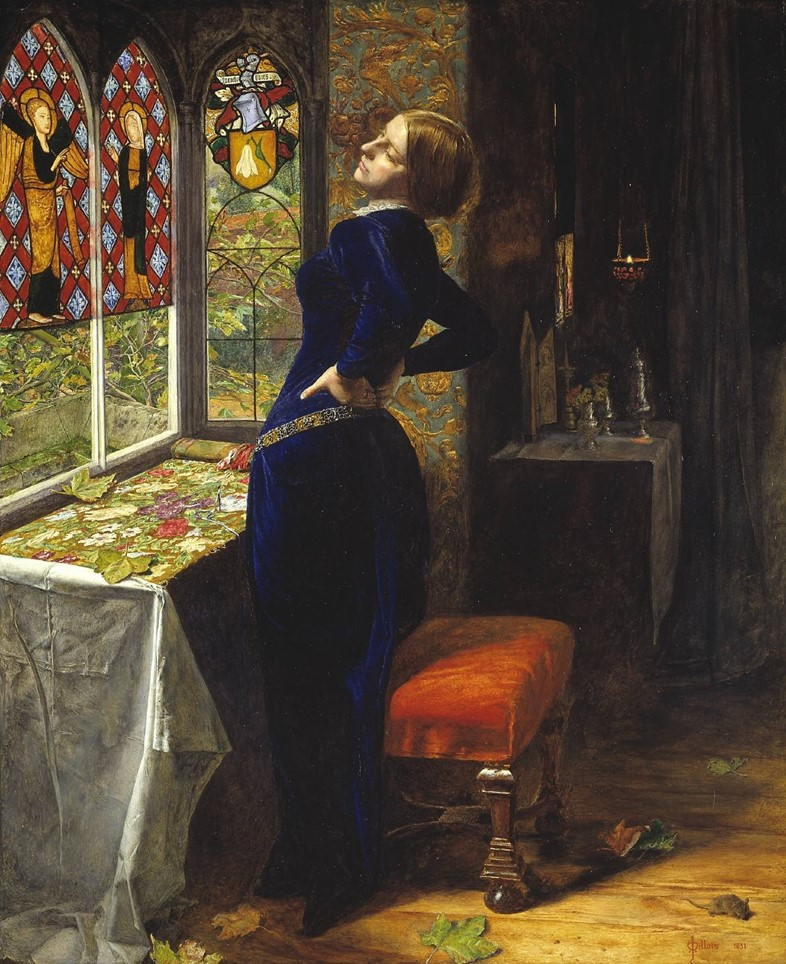 Sir John Everett Millais, Bt, Mariana, 1851