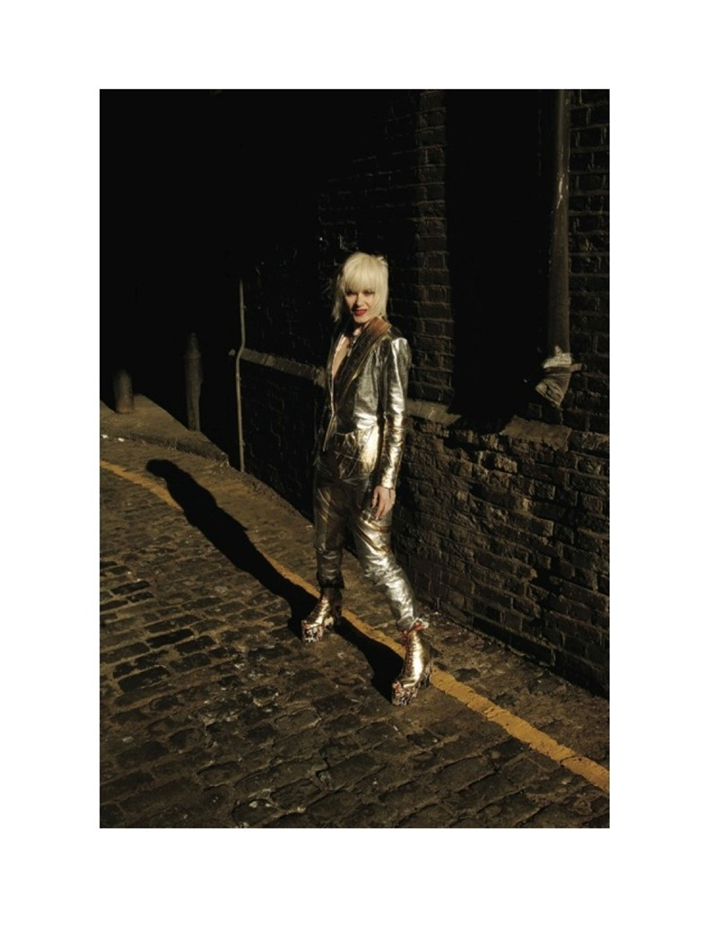 pam hogg in bowie boots