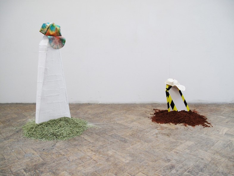 Untitled (History, Sculpture, Me), 2012